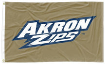 Load image into Gallery viewer, Akron - Zips Gold 3x5 flag