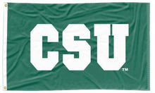 Load image into Gallery viewer, Colorado State University - CSU Green 3x5 Applique Flag