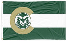 Load image into Gallery viewer, Colorado State University - Flag of Colorado Style 3x5 Flag