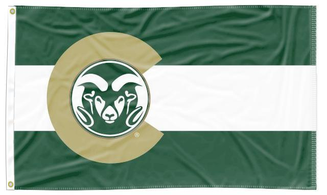 Colorado State University - Flag of Colorado Style 3x5 Flag