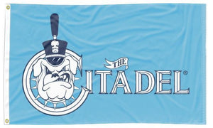 Citadel - Bulldogs Blue 3x5 Flag