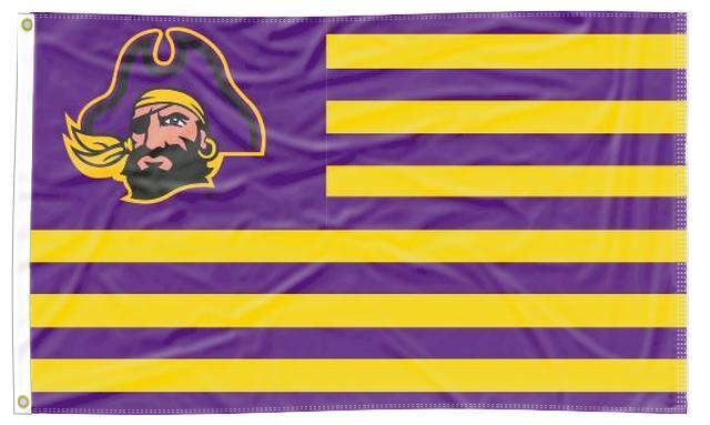 East Carolina - Pirates National 3x5 Flag