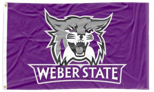 Weber State - Wildcats Purple 3x5 Flag