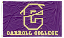 Load image into Gallery viewer, Carroll College - University Purple 3x5 Flag