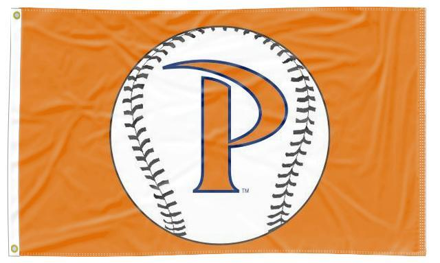 Pepperdine - Waves Baseball Orange 3x5 Flag
