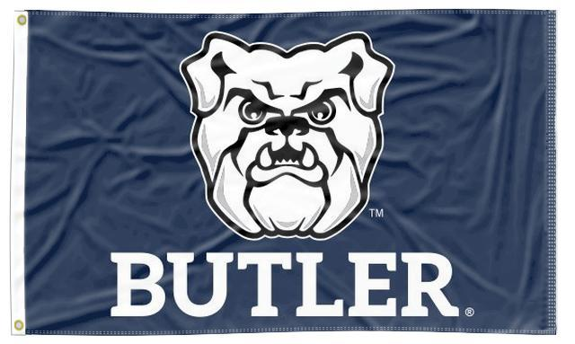 Butler - Bulldog Blue 3x5 Flag