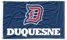 Load image into Gallery viewer, Duquesne - Dukes Blue 3x5 Flag