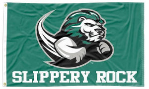 Slippery Rock - The Rock Green 3x5 Flag