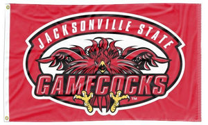 Jacksonville State University - Gamecocks 3x5 Flag