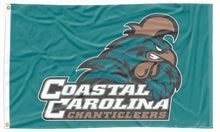 Load image into Gallery viewer, Coastal Carolina - Chanticleers Blue 3x5 flag
