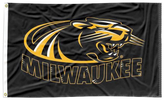 Milwaukee - Panthers Black 3x5 Flag