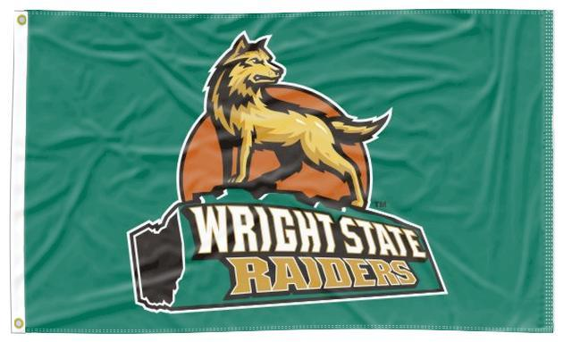 Wright State - Raiders Green 3x5 Flag