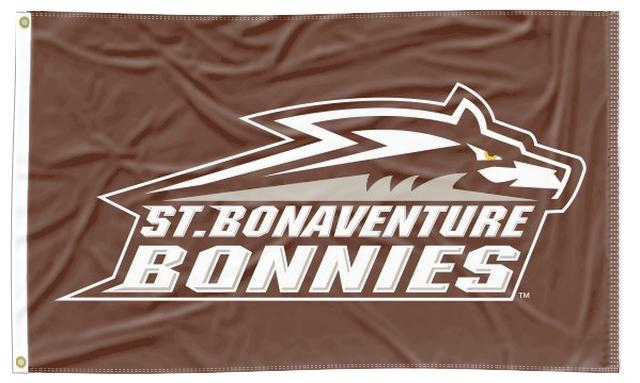 St. Bonaventure - Bonnies Brown 3x5 Flag
