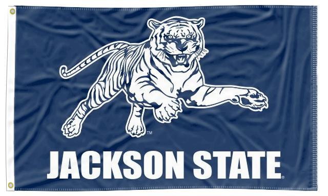 Jackson State - Tigers Blue 3x5 Flag
