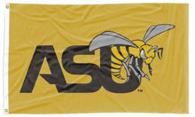 Load image into Gallery viewer, Alabama State U - Hornet Gold 3x5 Flag