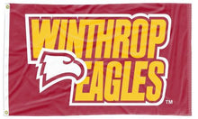 Load image into Gallery viewer, Winthrop - Eagles Red 3x5 Flag