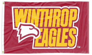 Winthrop - Eagles Red 3x5 Flag