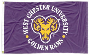 West Chester - Golden Rams 3x5 Flag