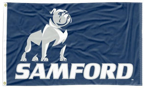 Samford - New Bulldogs Blue 3x5 Flag