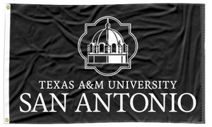 Texas A&M-San Antonio - University Black 3x5 Flag