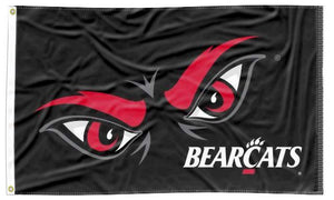 Cincinnati - Eye Logo Black 3x5 Flag