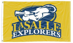 LaSalle - Explorers Gold 3x5 Flag