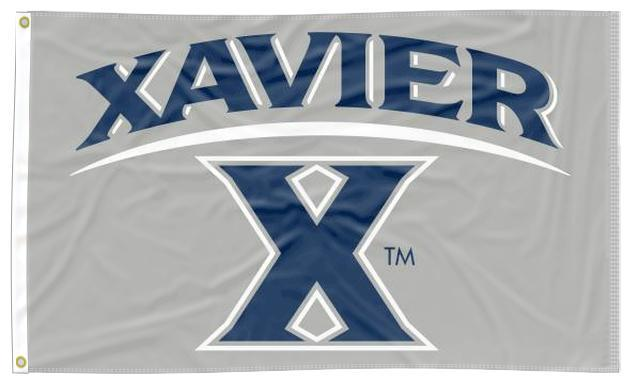 Xavier - Musketeers Gray 3x5 Flag