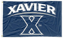 Load image into Gallery viewer, Xavier - Musketeers Navy 3x5 Flag