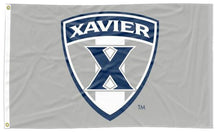 Load image into Gallery viewer, Xavier - Musketeers Shield Gray 3x5 Flag