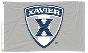 Xavier - Musketeers Shield Gray 3x5 Flag
