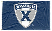 Load image into Gallery viewer, Xavier - Musketeers Shield Navy 3x5 Flag