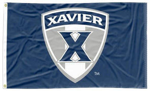 Xavier - Musketeers Shield Navy 3x5 Flag