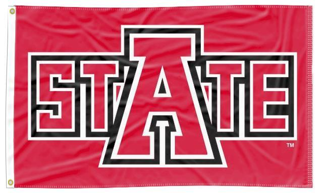 Arkansas State - Red Wolves State 3x5 Flag