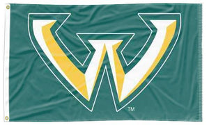 Wayne State - Wildcats Green 3x5 Flag