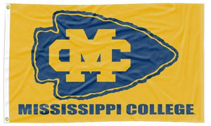 Mississippi College - Choctaws Gold 3x5 Flag