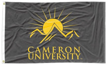 Load image into Gallery viewer, Cameron University - Aggies Black 3x5 Flag
