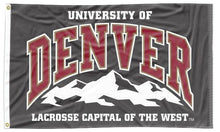 Load image into Gallery viewer, Denver - Lacrosse Capital Of The West 3x5 Flag