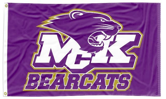 McKendree - Bearcats Purple 3x5 Flag