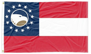 Georgia Southern - Flag of Georgia Style 3x5 Flag