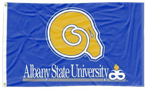 Albany State University - Golden Rams 3x5 Flag