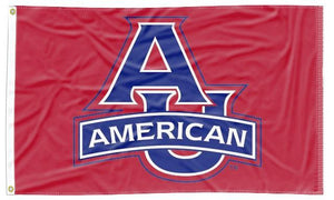 American University - Eagles Red 3x5 Flag