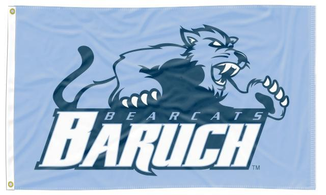 Baruch College - Bearcats 3x5 Flag