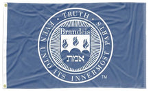 Load image into Gallery viewer, Brandeis University - Seal Blue 3x5 Flag