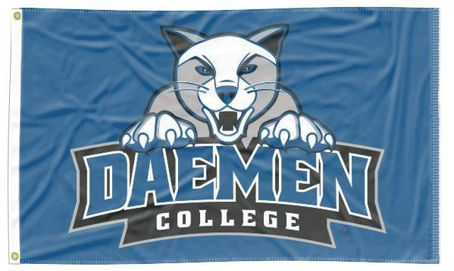 Daemen College - Wildcats Blue 3x5 Flag