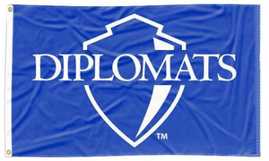 Franklin & Marshall College - Diplomats Blue 3x5 Flag
