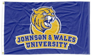 Johnson & Wales University - Wildcats Blue 3x5 Flag