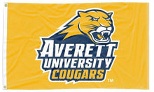 Load image into Gallery viewer, Averett University - Cougars Gold 3x5 Flag