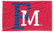 Load image into Gallery viewer, Francis Marion University - FM Patriots Red 3x5 Flag