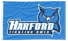 Load image into Gallery viewer, Harford CC - Fighting Owls Blue 3x5 Flag