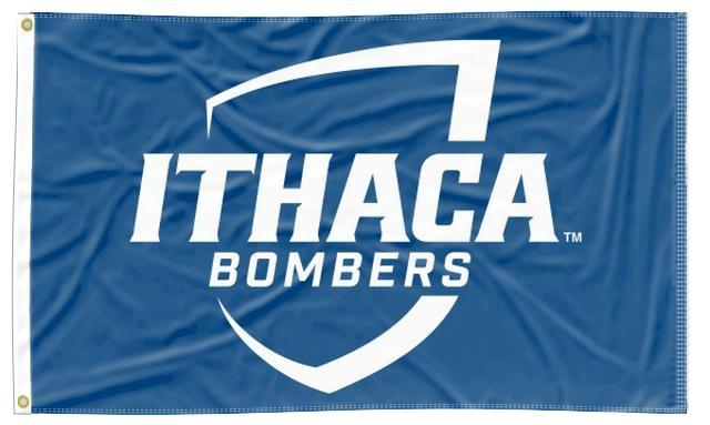 Ithaca College - Bombers Blue 3x5 Flag